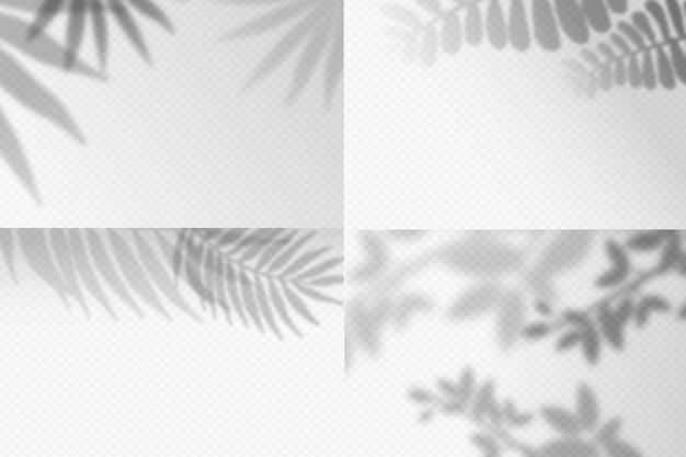 Эффект наложения прозрачных теней Бесплатные векторы