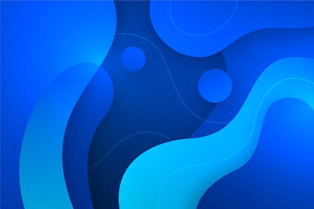 抽象的な古典的な青い背景 無料ベクター