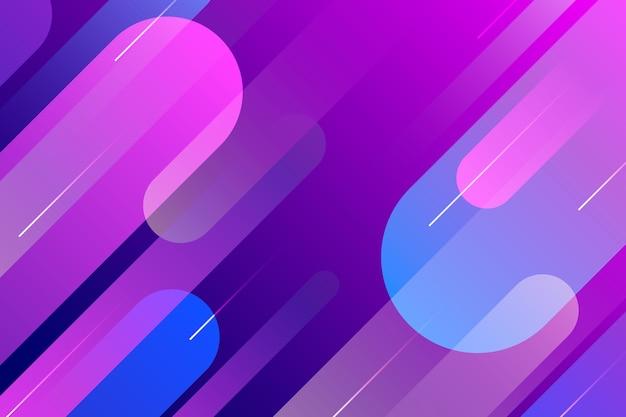 Градиент фиолетовый и синий абстрактный фон Бесплатные векторы