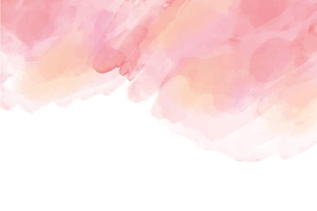 水彩の手描きの背景 無料ベクター