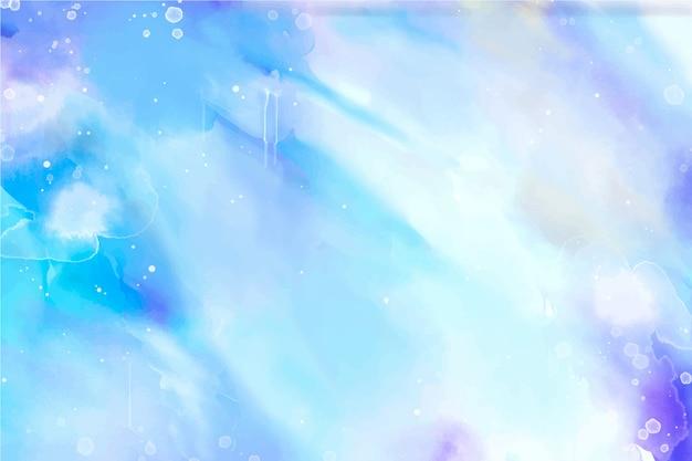 美しい水彩画の背景 無料ベクター