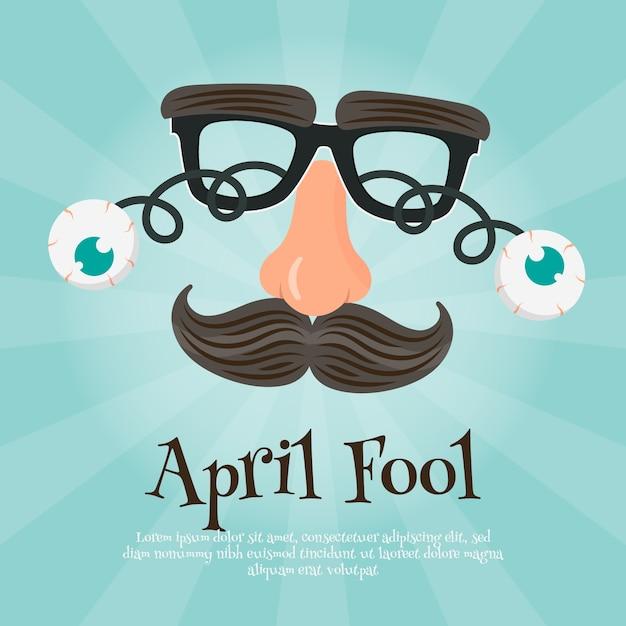 День апреля дурака Бесплатные векторы