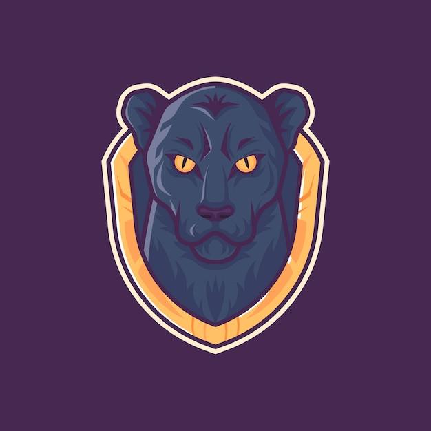 Талисман логотип пантера Бесплатные векторы