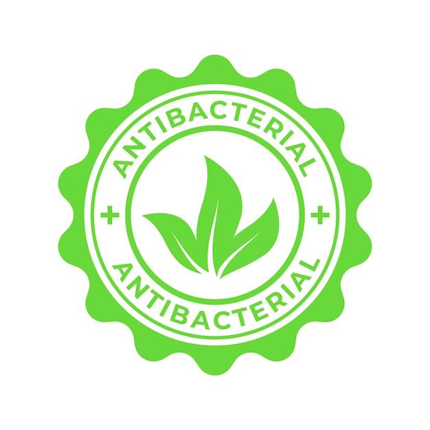 Антибактериальный логотип Бесплатные векторы