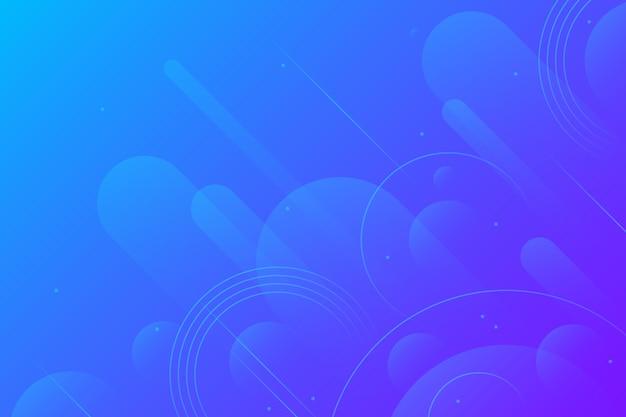 抽象的なデザインの青い背景 無料ベクター