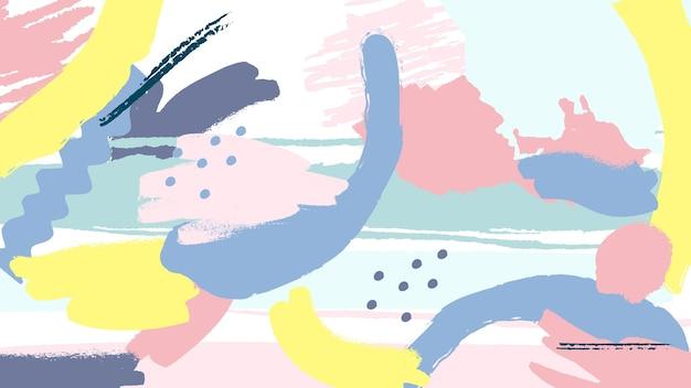 Абстрактный окрашенный фон Бесплатные векторы