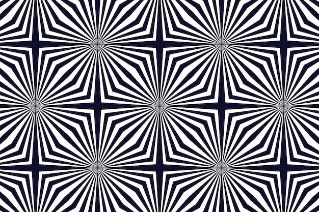 サイケデリックな錯覚の背景 無料ベクター