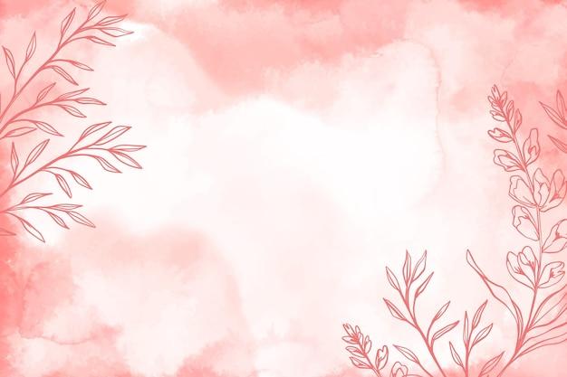 Порошок пастель с рисованной элементов фона Бесплатные векторы