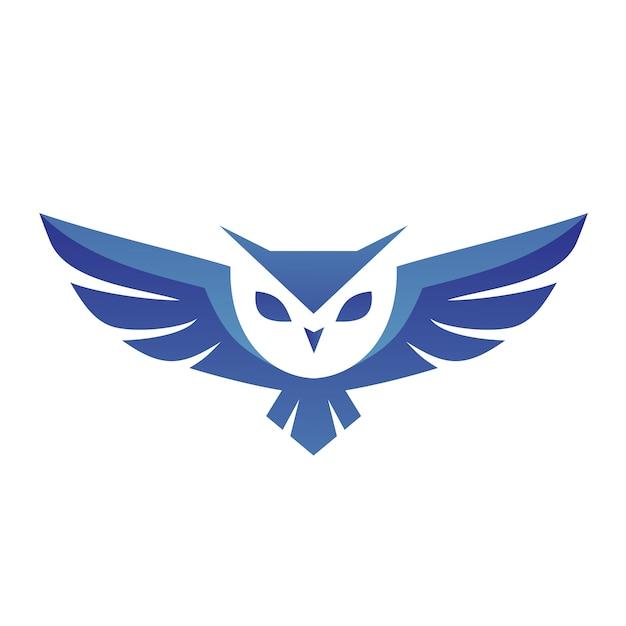 フクロウのロゴのベクトル Premiumベクター