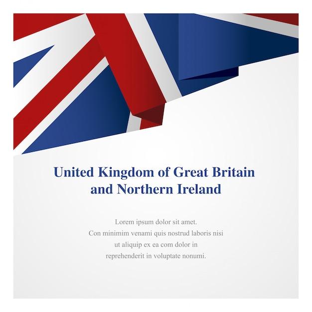 Шаблон эмблемы великобритании Premium векторы