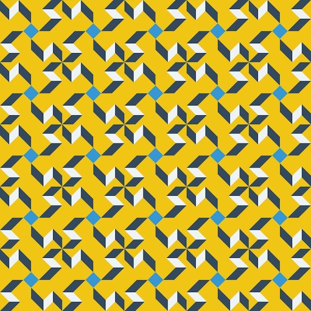 Графический дизайн украшения абстрактные бесшовные шаблон Premium векторы