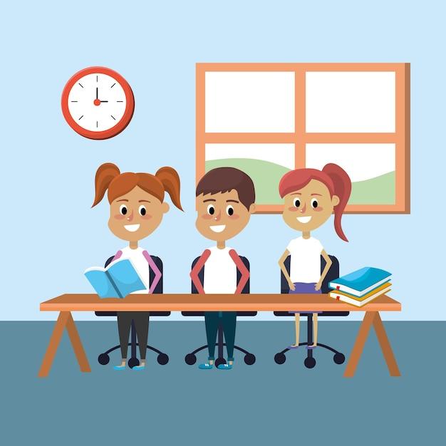 Студенческие знания в области образования и обучения Premium векторы