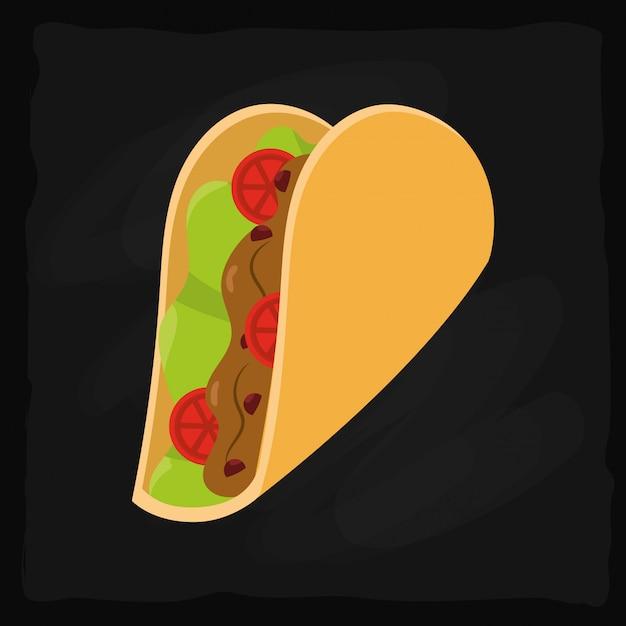 メキシコ料理のグルメ Premiumベクター