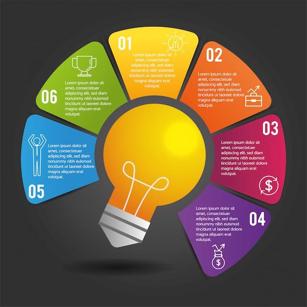 ローレムイプサムとインフォグラフィック事業戦略レポート Premiumベクター
