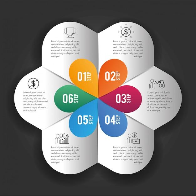 ビジネスインフォグラフィックデータプラン情報 Premiumベクター