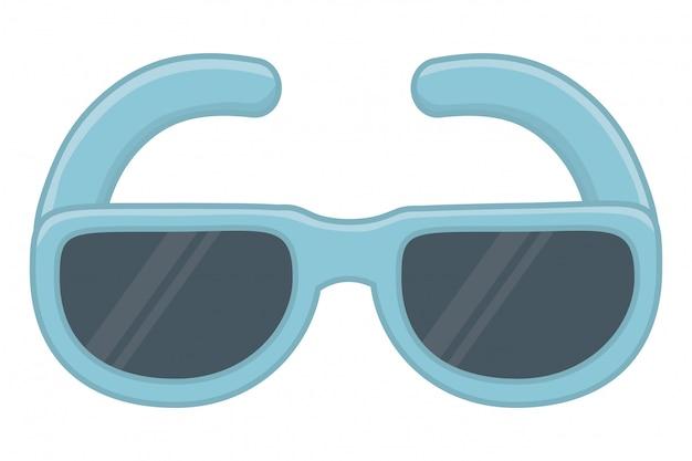 孤立したメガネベクトルイラスト Premiumベクター