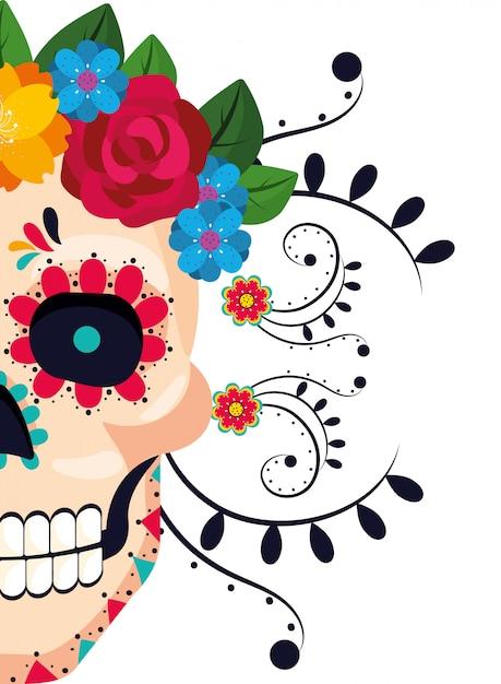 Мультфильм мексиканской культуры Premium векторы
