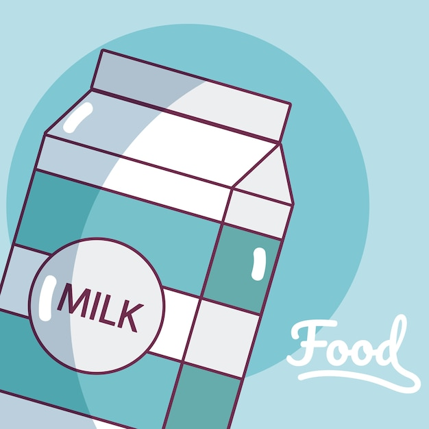 ミルクボックスドリンク製品 Premiumベクター