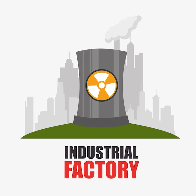 工場および産業プラント設備 Premiumベクター