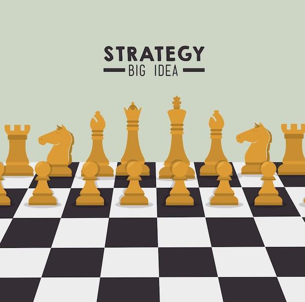 戦略的計画設計。 Premiumベクター