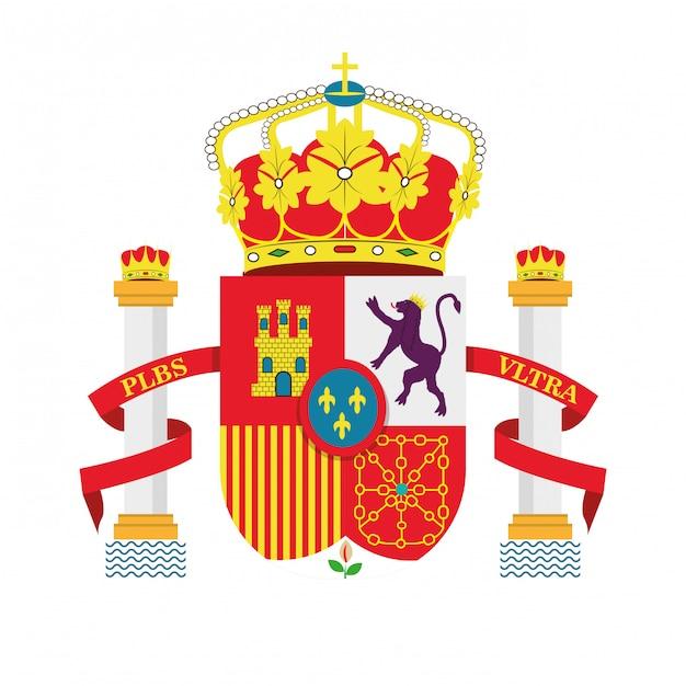 スペインの文化アイコンは、アイコンのデザインを分離 Premiumベクター