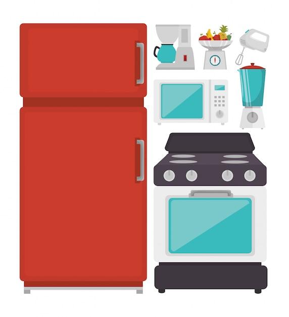 キッチン食器 Premiumベクター