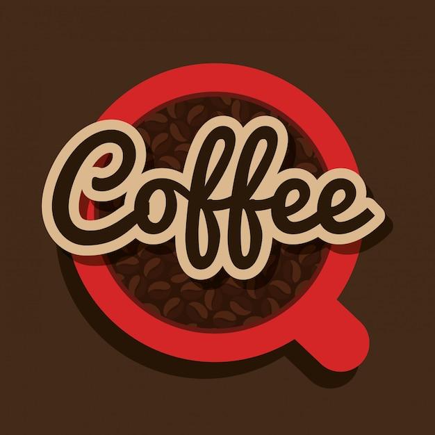 おいしいコーヒー 無料ベクター