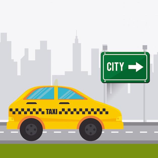 Транспорт, движение и дизайн транспортных средств Бесплатные векторы