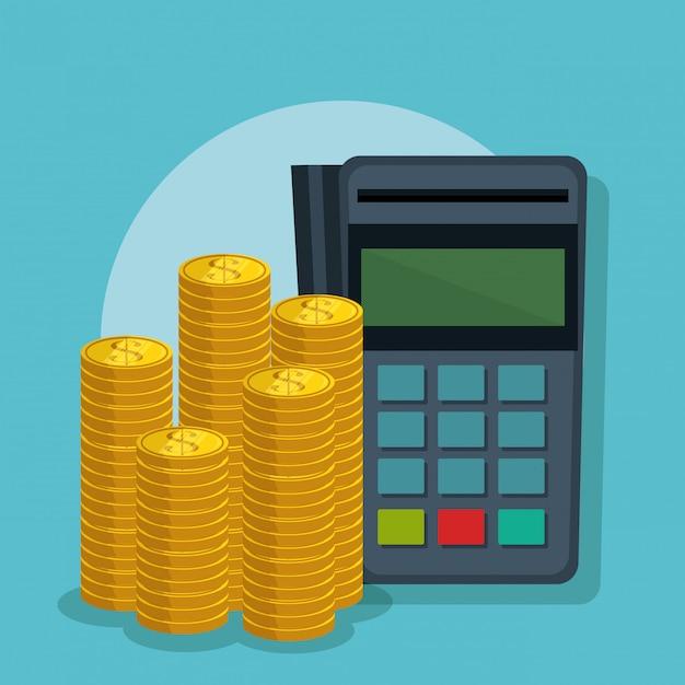 Сэкономить деньги набор иконок Бесплатные векторы