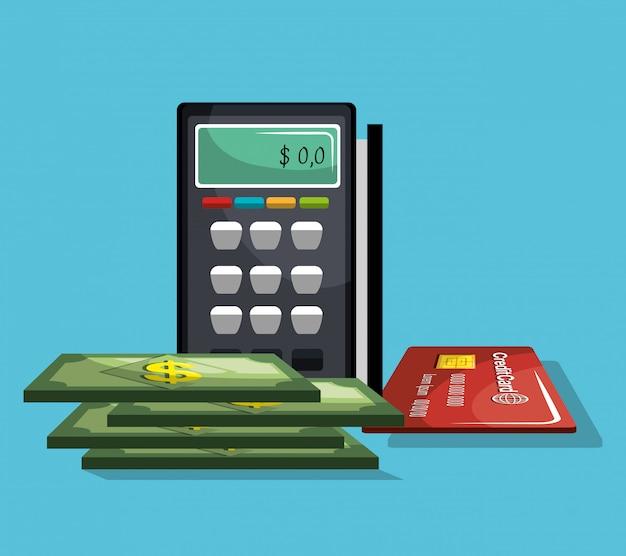 銀行業および財政 無料ベクター