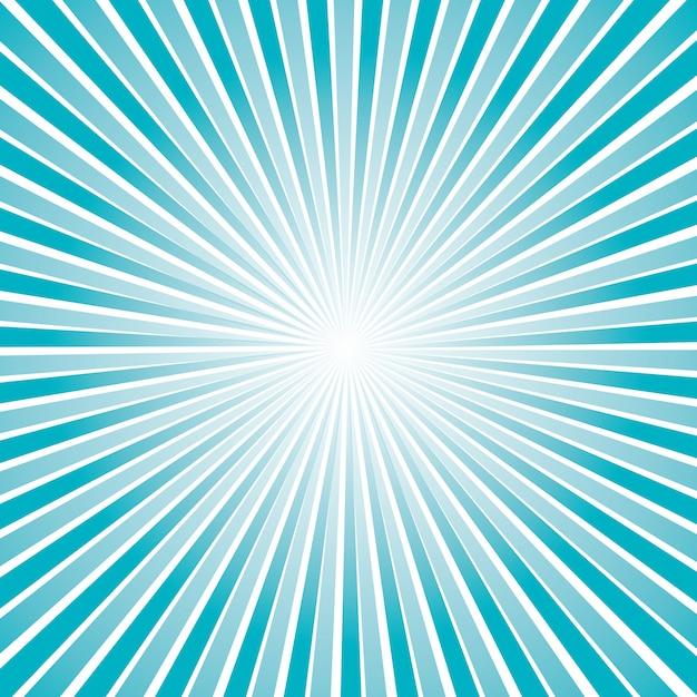 Модель солнечных лучей Бесплатные векторы