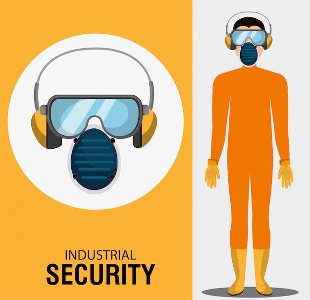 産業用セキュリティ機器 無料ベクター