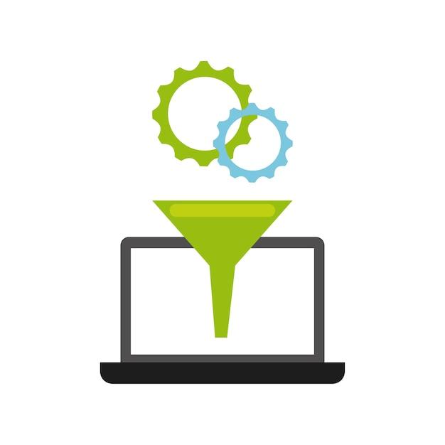 ソフトウェアプログラミングの概念アイコン Premiumベクター