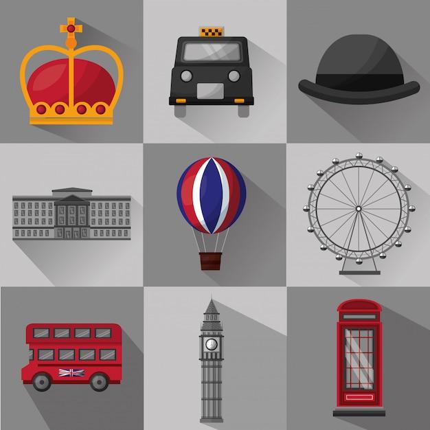 英国国旗 Premiumベクター