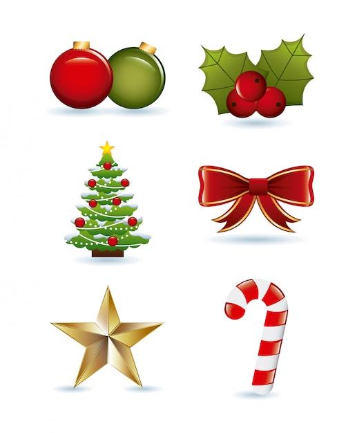 クリスマスデザイン Premiumベクター