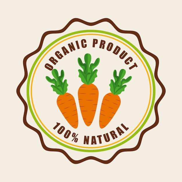 自然食品 Premiumベクター