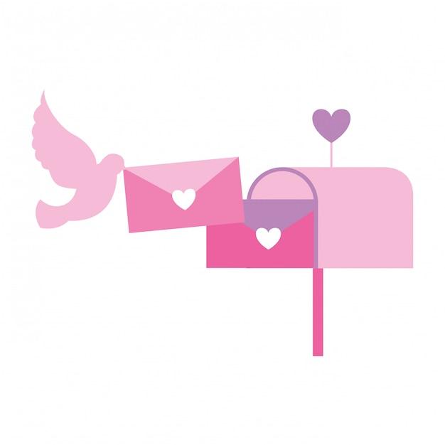 バレンタインの日カード Premiumベクター