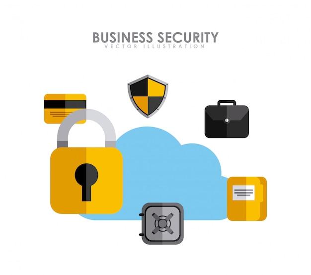 ビジネスセキュリティ Premiumベクター