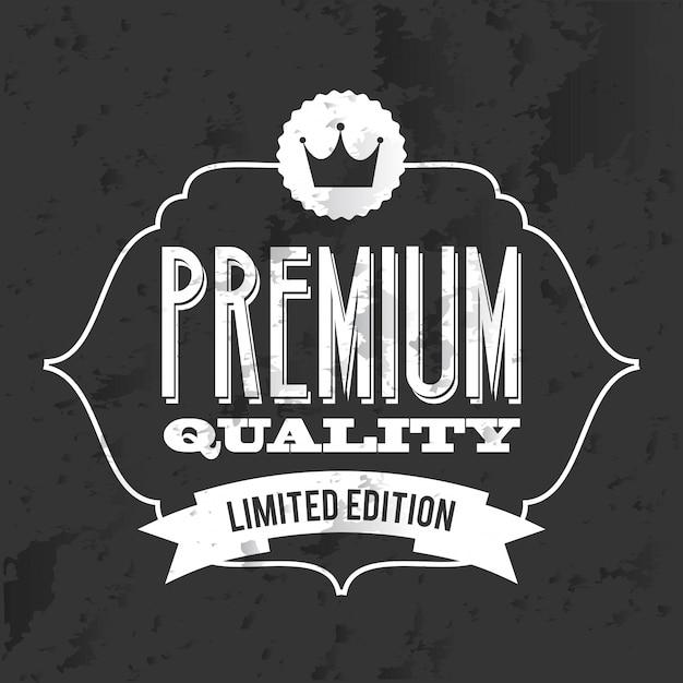 Торговый дизайн на черном фоне векторные иллюстрации Premium векторы
