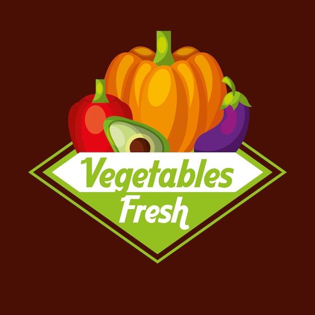 野菜生鮮食品 Premiumベクター