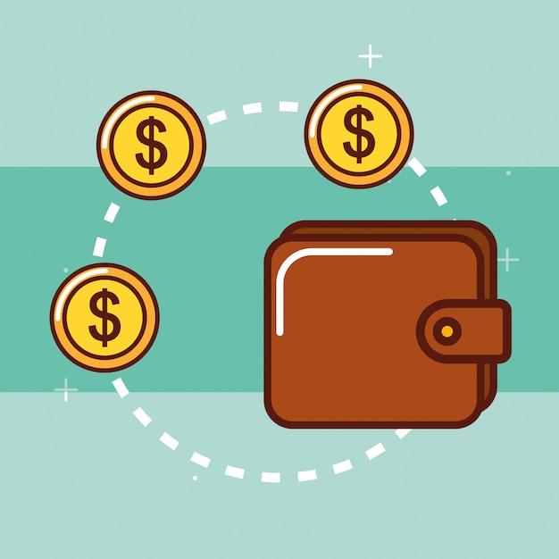 お金を節約するコンセプト Premiumベクター