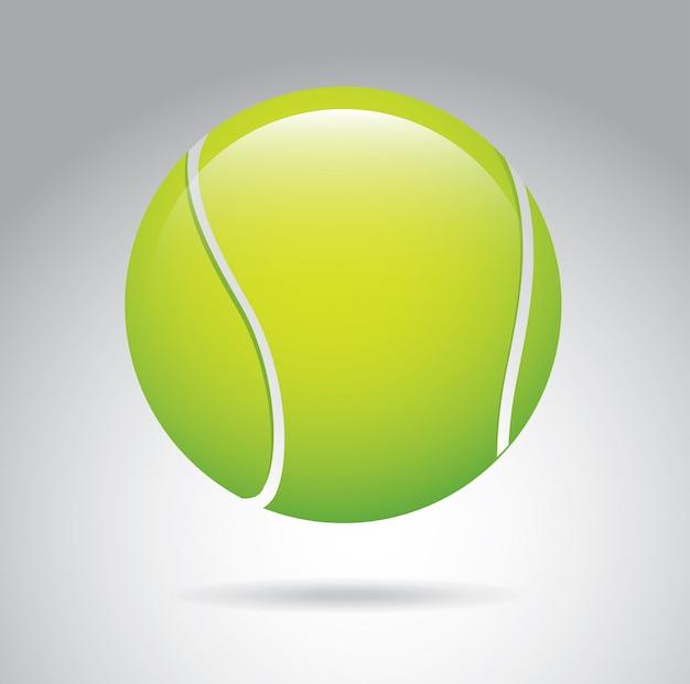 Теннисный мячик Premium векторы