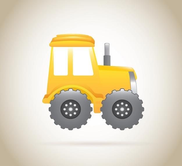 トラクター Premiumベクター