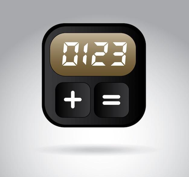 デジタル時計 Premiumベクター