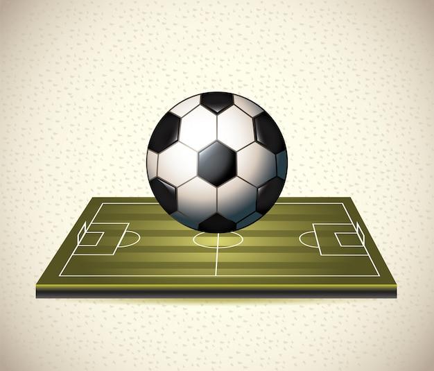 Футбольный Premium векторы