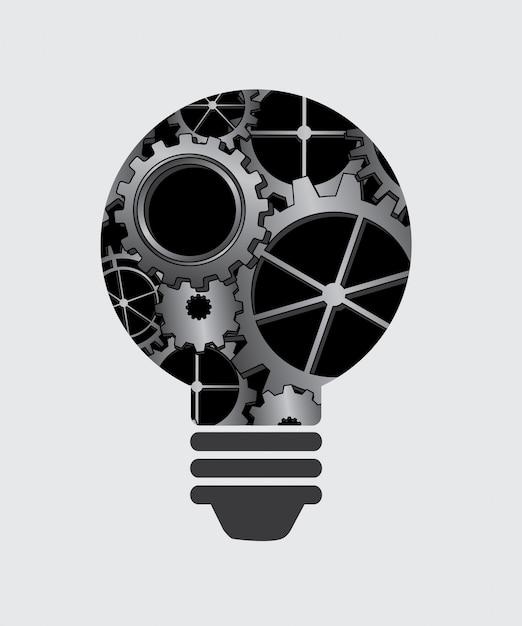 電球のアイデア 無料ベクター