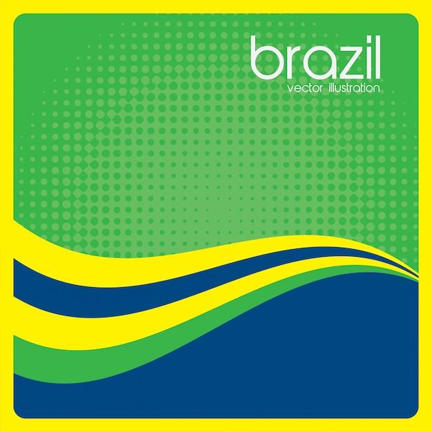 ブラジル 無料ベクター