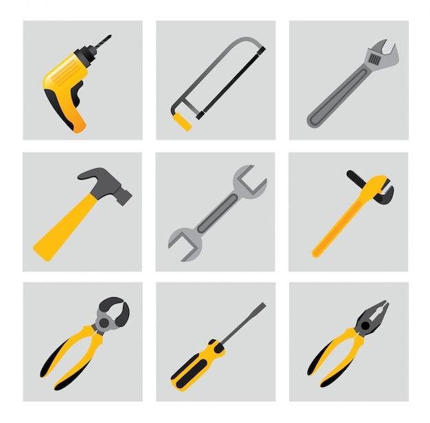 Инструменты Бесплатные векторы