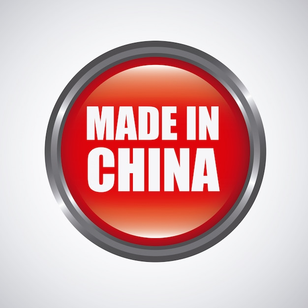 中国のコンセプトで行われました。 無料ベクター