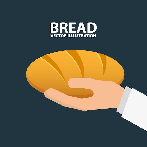 パン屋さんのイラスト 無料ベクター